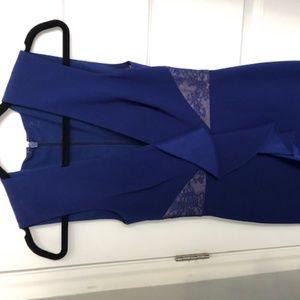Aidan Mattox Cobalt Blue Dress